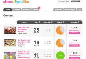Shareifyoulike PlugIn für WordPress
