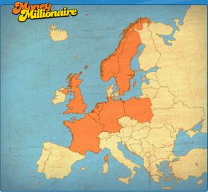 Moneymillionär in Europa
